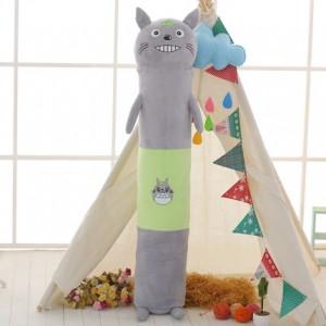 Мягкая игрушка-подушка арт.МИ09,цвет:Зеленый серый кот