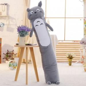Мягкая игрушка-подушка арт.МИ09,цвет:Серый классический кот