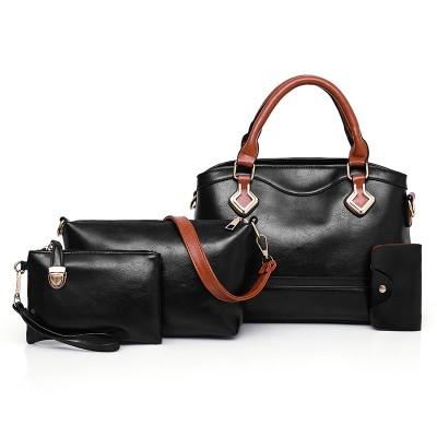 Набор сумок из 4 предметов арт.А574,цвет: Черный