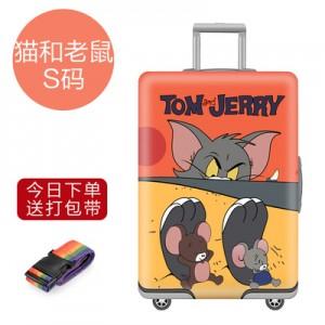Чехол для чемодана арт.ЧЧ01,цвет: Том и Джерри