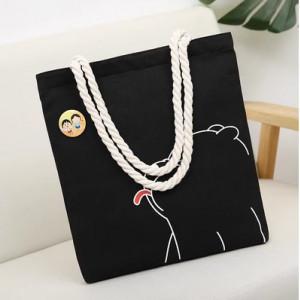 Комплект сумок из 2 предметов арт А466,цвет:черный