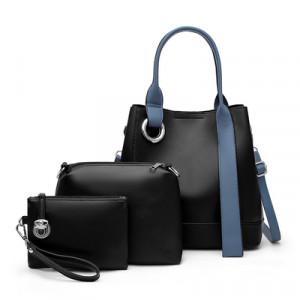 Комплект сумок из 3 предметов, арт А481 цвет:черный