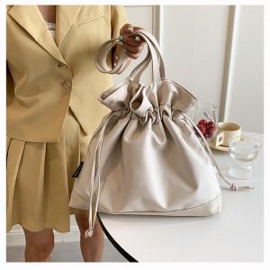 Комплект сумок из 4 предметов,арт А477 цвет: синий глянцевый