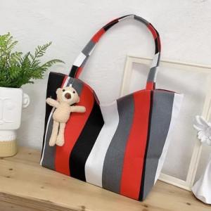 Набор сумок из 3 предметов арт А259 модель Узор крест фиолетовый