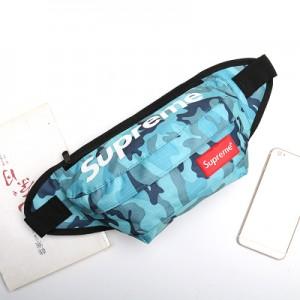 Спортивная сумка арт СС4, палиний синий Камо