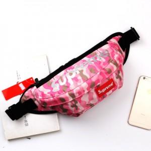 Спортивная сумка арт СС4, розовый Камо
