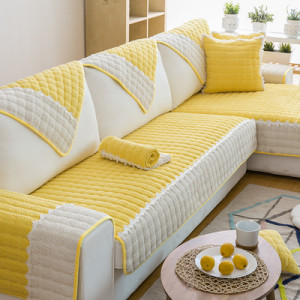 Дивандек арт ДК11 цвет: лимонно-желтый