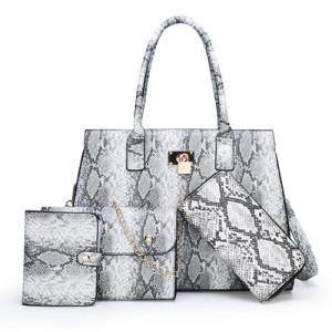 Комплект сумок из 4 предметов арт А415,цвет:серый