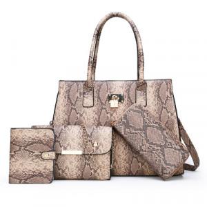 Комплект сумок из 4 предметов арт А415,цвет:хаки