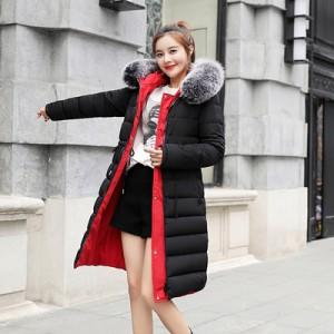 Куртка двусторонняя женская арт КЖ190, цвет:черный
