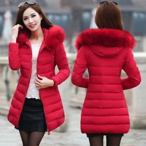 Куртка женская арт КЖ191 цвет: красный