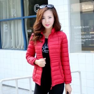 Куртка женская арт КЖ192, цвет:красный