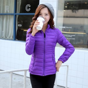 Куртка женская арт КЖ192, цвет:фиолетовый