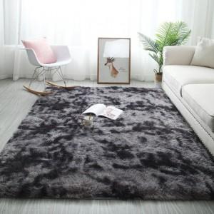 Меховые ковры арт КВ37, градиент, цвет: ясень