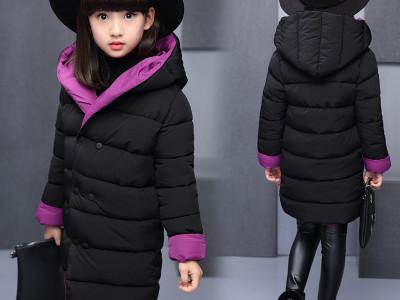 Куртка для девочек арт КД082 цвет:фиолетовый