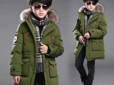 Куртка для мальчиков арт КД089, цвет:зеленый