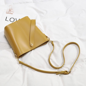 Комплект сумок из 2 предметов арт А378,цвет:желтый