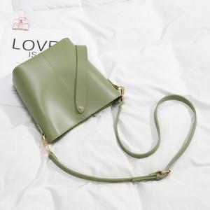 Комплект сумок из 2 предметов арт А378,цвет:зеленый
