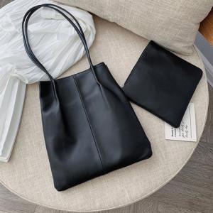 Комплект сумок из 2 предметов арт А379,цвет:черный