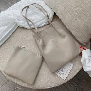Комплект сумок из 2 предметов арт А379,цвет:абрикос