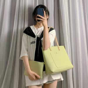 Комплект сумок из 2 предметов арт А380,цвет:зеленый