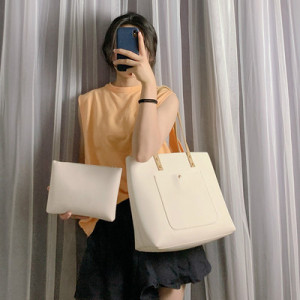Комплект сумок из 2 предметов арт А380,цвет:белый