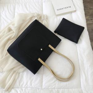 Комплект сумок из 2 предметов арт А380,цвет:черный