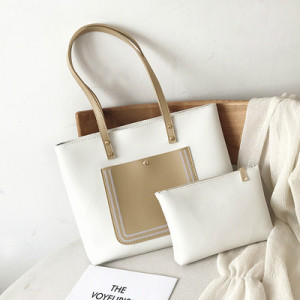 Комплект сумок из 2 предметов арт А381,цвет:белый