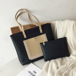 Комплект сумок из 2 предметов арт А381,цвет:черный