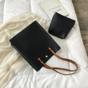 Комплект сумок из 2 предметов арт А383,цвет:черный