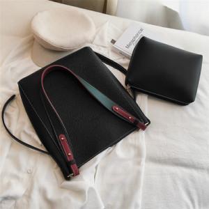 Комплект сумок из 2 предметов арт А384,цвет:черный