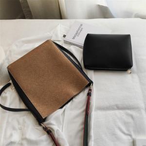 Комплект сумок из 2 предметов арт А384,цвет:коричневый
