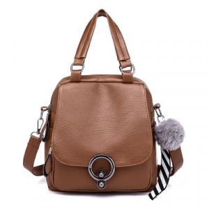 Рюкзак арт Р509, цвет: коричневый