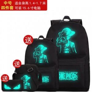 Набор рюкзак из 4 предметов арт Р265 Luffy