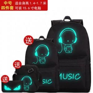 Набор рюкзак из 4 предметов арт Р265 Музыка