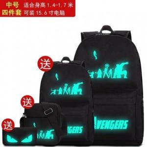 Набор рюкзак из 4 предметов арт Р265 Мстители