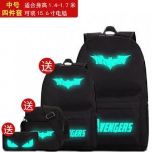 Набор рюкзак из 4 предметов арт Р265 Бэтмен