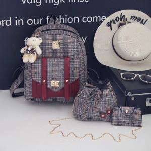 Набор рюкзак из 3 предметов арт Р275