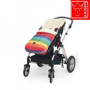 Конверт в коляску арт КН4 цвет: радужный