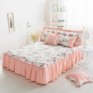 Покрывало на кровать арт 5441 цвет: белый милый