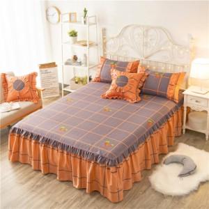 Покрывало на кровать арт 5441 цвет:оранжевые акации