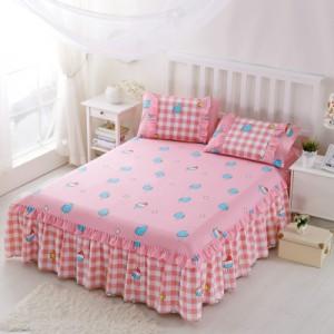 Покрывало на кровать арт 5441 цвет:розовый пуддинг