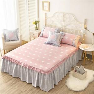 Покрывало на кровать арт 5441 цвет:лотоса свежий