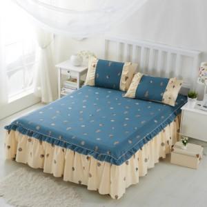 Покрывало на кровать арт 5441 цвет:голубой павлин