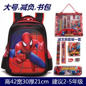 Рюкзак арт Р306 черный человек паук
