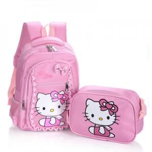 Рюкзак арт Р318 из 2 предметов светло-розовый