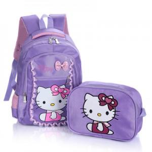 Рюкзак арт Р318 из 2 предметов фиолетовый