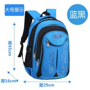 Рюкзак арт Р310 1291 синий черный