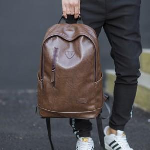 Рюкзак арт МК43, коричневый