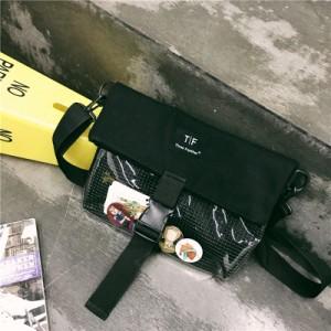 Сумка молодежная арт МК46, черный